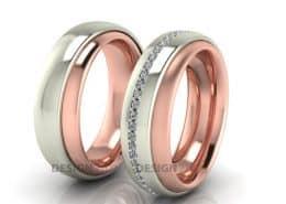 Ring im Ring Eheringe
