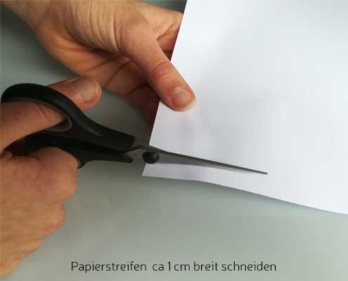 Ringgrößen Messung mit Papierstreifen-1