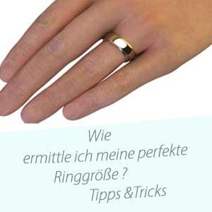Ermittlung der perfekten Ringgröße