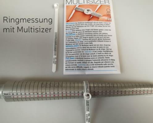Ringmessung mit Multisizer Ringgröße
