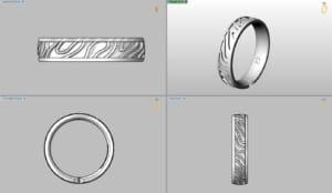 Ringkombination in 3D