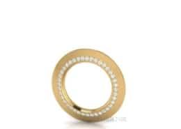 Diamantcollier-Gold Zen Diamond