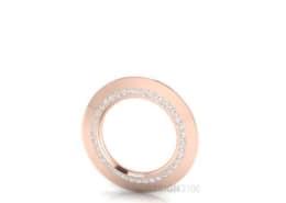 Diamant Collier Rosegold